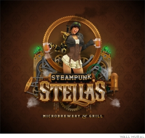 My Grand Prize winning design: Steampunk Stella's