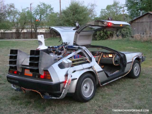 Prediction: Time-travelling DeLoreans are going to be huuuuge in 2013.
