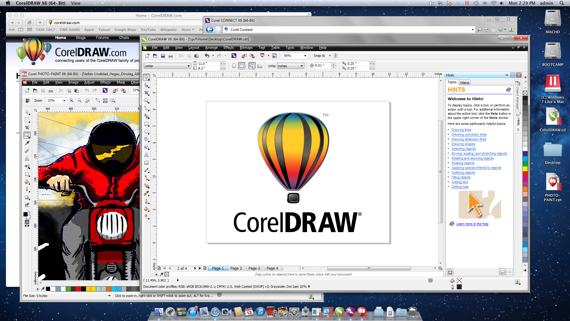 You can run CorelDRAW on a Mac! | Corel Blogs