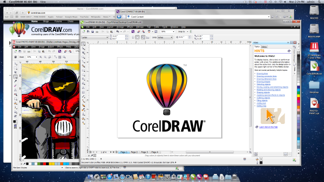 CorelDRAW X6 on Mac